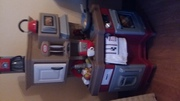kids play kitchen hardly used bought last christmas working toaster